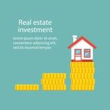 Organismos de investimento imobiliário Fotografia de Stock Royalty Free