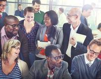 Organização Team Discussion Working Concept do apoio da diversidade fotos de stock