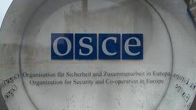 Organizaci?n para seguridad y cooperaci?n en el logotipo OSCE Hofburg Viena de Europa