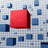 Organizaci struktura Zdjęcie Royalty Free