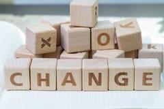 Organizaci zmiana, biznesowa transformata, zakłócenie lub rozwija co zdjęcia stock