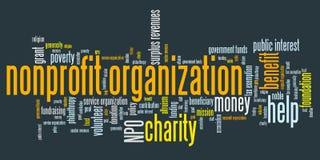 Organización sin ánimo de lucro Imágenes de archivo libres de regalías