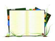 Organizador ambiental del asunto stock de ilustración