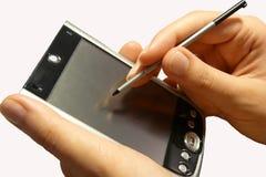 Organizador de PDA Fotos de Stock Royalty Free