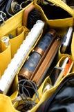 Organizador do saco da mulher Foto de Stock Royalty Free