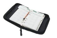 Organizador e lápis do bolso foto de stock royalty free