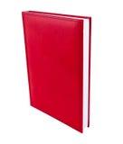 Organizador rojo del libro imagen de archivo libre de regalías