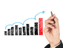 Organization chart Royalty Free Stock Image