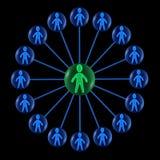 Organization Chart Royalty Free Stock Images