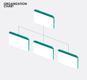 Organization chart infographics with tree,Organization chart tem Royalty Free Stock Photo