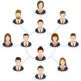 Organization chart Stock Photos