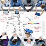 Organization Chart Management Planning Concept Stock Photo