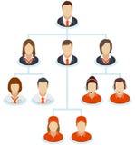 Organization chart Stock Photography