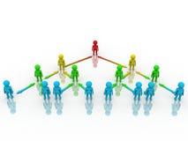 Organization Concept royalty free illustration