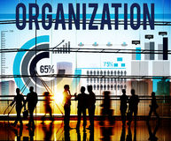 Organization Corporate Business Commitment Team Concept Royalty Free Stock Photography