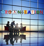 Organization Corporate Collaboration Business Team Concept Royalty Free Stock Photo