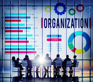 Organization Group Business Company Corporate Concept.  Royalty Free Stock Photos