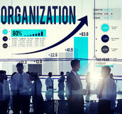 Organization Management Network Corporate Connection Concept Stock Photography