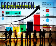 Organization Management Network Corporate Connection Concept Stock Images