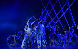 """The organization for risk -Dance drama """"The Dream of Maritime Silk Road"""" Royalty Free Stock Photo"""