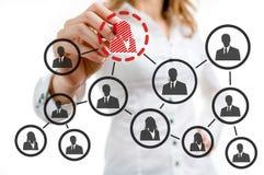 Organizational chart Stock Photo