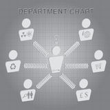 Organizational Department Chart Vector Stock Photography