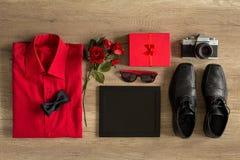 Organizational items for birthday Royalty Free Stock Photos