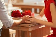 Organizatorska romantyczna data soulmate obrazy stock