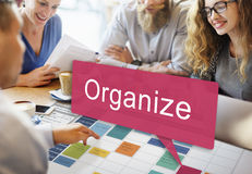 Organize Design Resource System Manual Concept Royalty Free Stock Photography