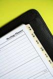 Organize: reuniões Imagens de Stock