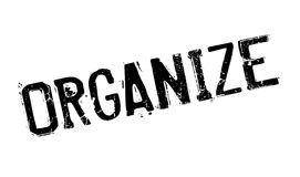 Organize rubber stamp Stock Image