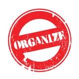 Organize rubber stamp Stock Photos