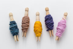 Organize Yarn Royalty Free Stock Photo