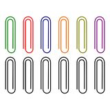 Paperclip, small and useful tools vector illustration