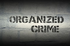 Organized crime gr Royalty Free Stock Photo
