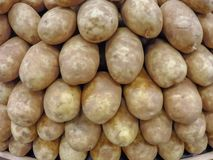 Organized potato Royalty Free Stock Photography
