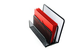 Organized Red Mail Stock Image