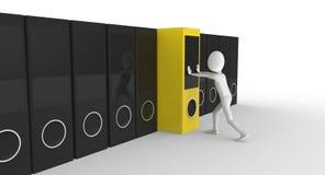Organized storage Stock Photos