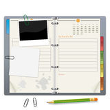 Organizer. An illustration for your design project Royalty Free Stock Image