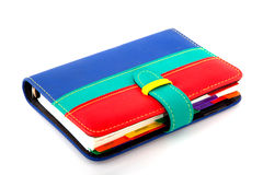 Organizer. Colorful organizer for all your goals Stock Photography