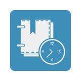 Organizer icon. On the white background. Vector illustration Royalty Free Stock Photo