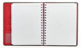 Organizer note book Royalty Free Stock Photos