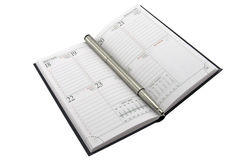 organizer and pen Stock Image
