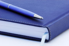Organizer and pen isolated Stock Photo