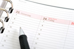Organizer time management for Stock Photos