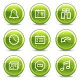 Organizer web icons Royalty Free Stock Photos