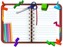 Free Organizer With Pencils, Scissors Royalty Free Stock Image - 18314296