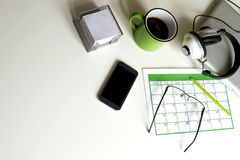 Organizing appointments Royalty Free Stock Image