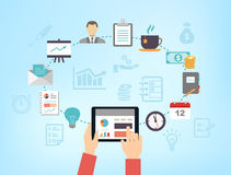 Organizing Business Meeting or Productivity Management