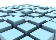 Organizing cubes Stock Photo